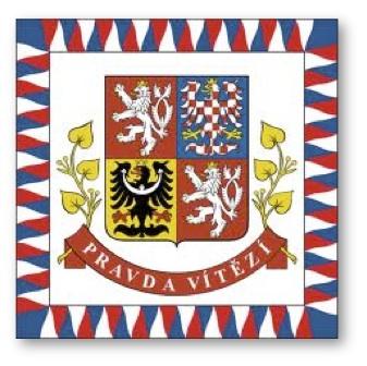 Czech presidential banner