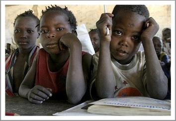 Africna schoolkids