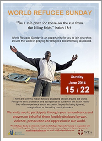 Refugee Sunday poster