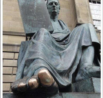 David Hume's Toe