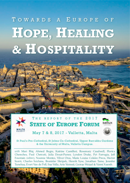 Towards A Europe Of Hope, Healing And Hospitality