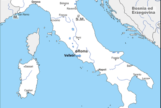 A European Journey #1 – Velletri (Italy)