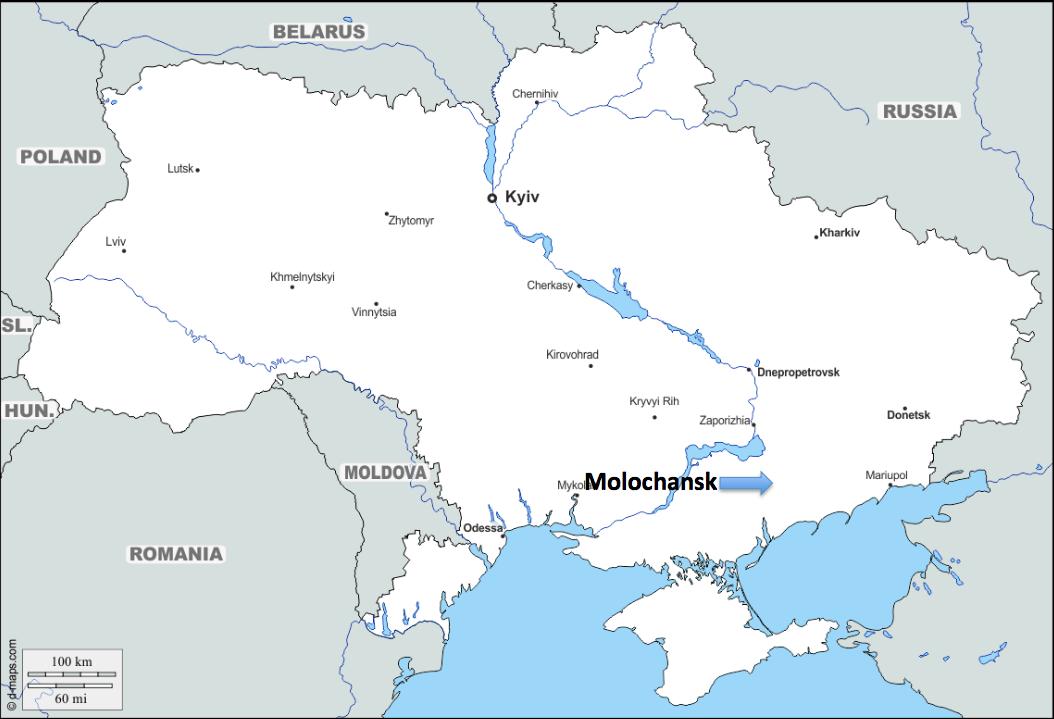 A European Journey #10 – Molochansk (Ukraine)