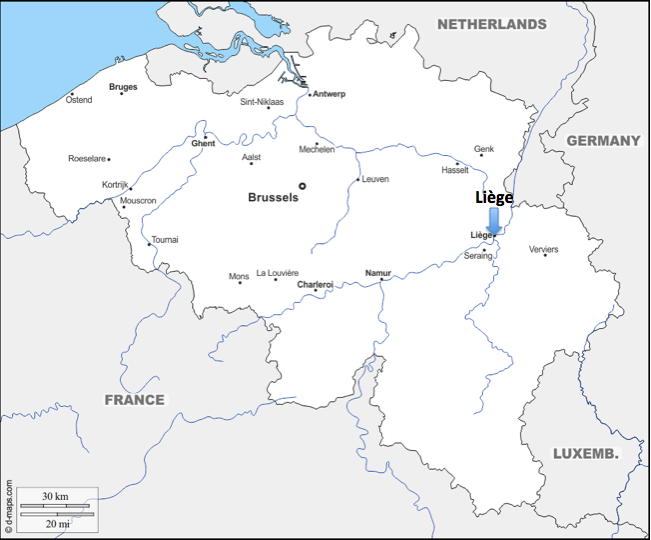 A European Journey #7 – Liège (Belgium)
