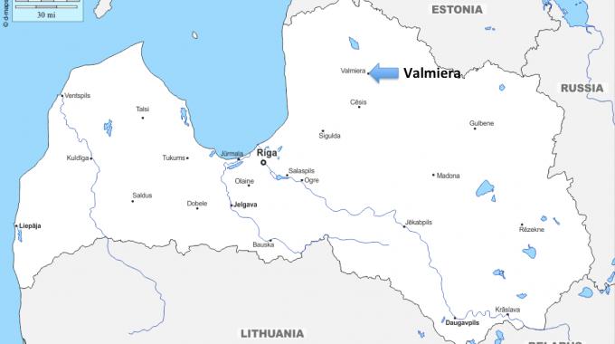 A European Journey #13 – Valmiera (Latvia)