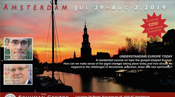 Jul 29 – Aug 2, 2019 – Masterclass In European Studies (Amsterdam)