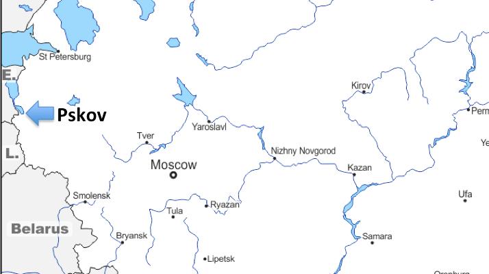 A European Journey #15 – Pskov (Russia)