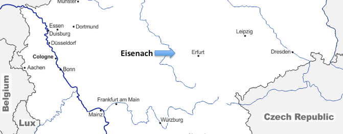 A European Journey #16 – Eisenach (Germany)