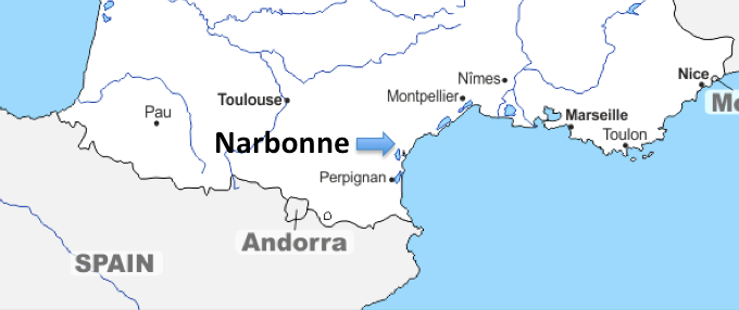 A European Journey #26 – Narbonne (France)