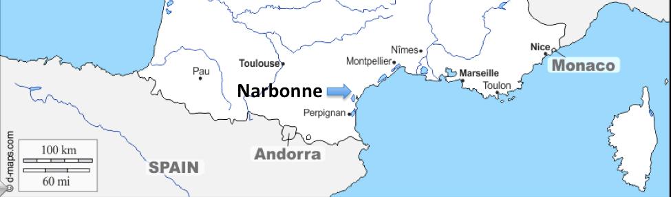 Un Viaggio Europeo #26 – Narbona (Francia)