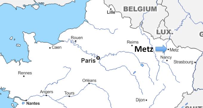 Un Voyage Européen #27 – Metz (France)