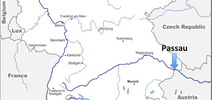 Un Voyage Européen #34 – Passau (Allemagne)