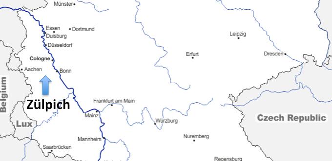 Un Voyage Européen #35 – Zülpich (Allemagne)