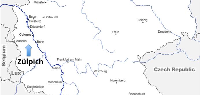 A European Journey #35 – Zülpich (Germany)