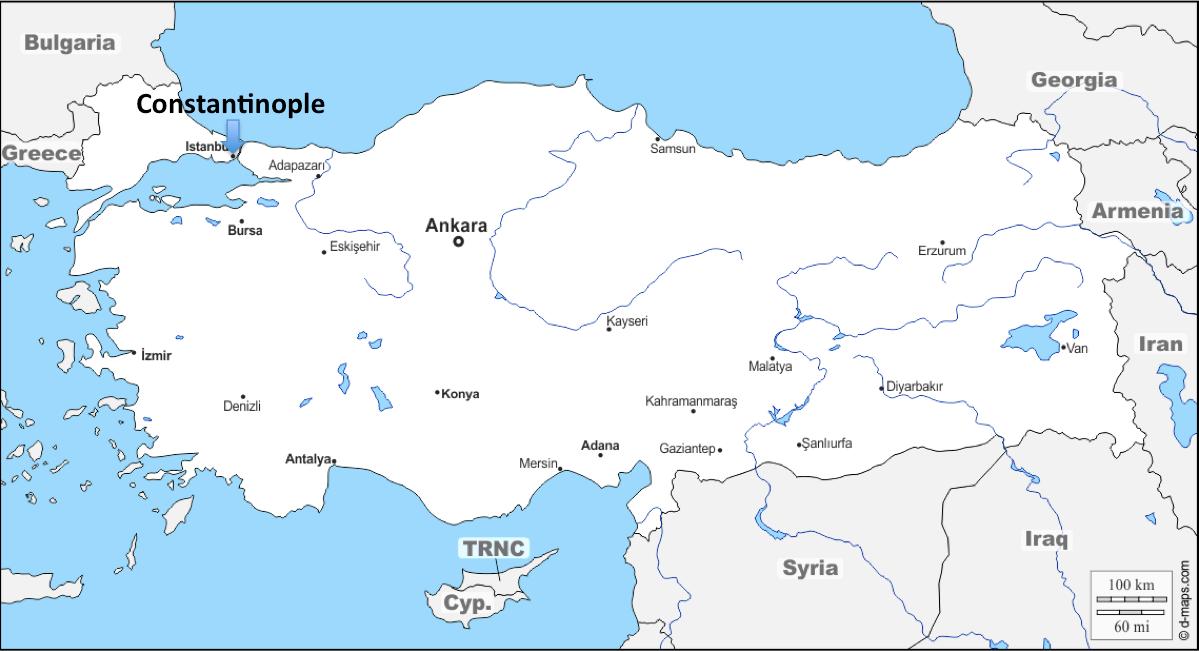 A European Journey #36 – Constantinople (Turkey)
