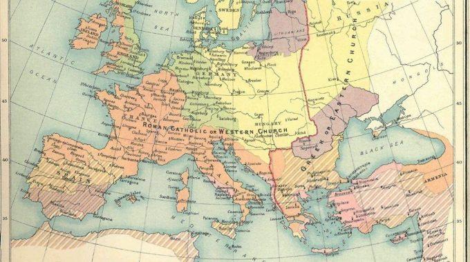 Les Divisions Religieuses Qui Ont Façonné L'Europe