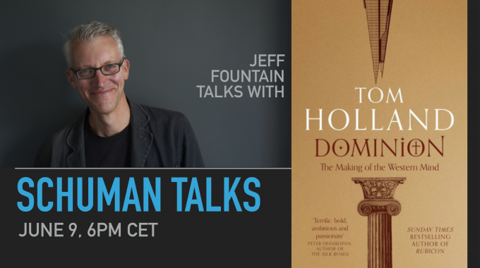 Schuman Talks (Episode 1) – Tom Holland