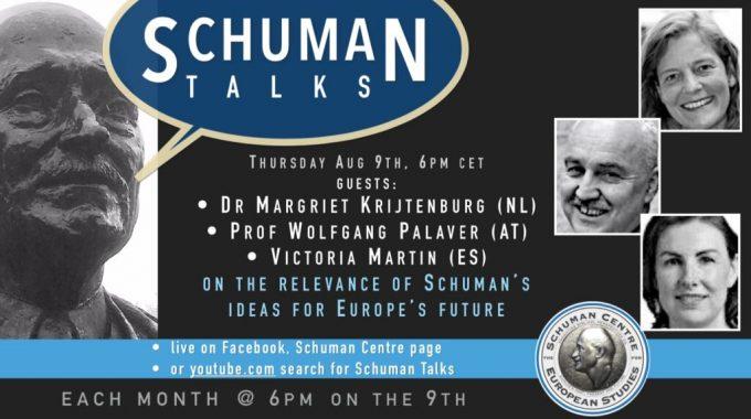 9 Aug 2020: Schuman Talks – Episode 3
