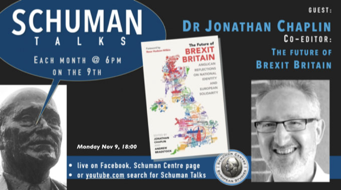 Schuman Talks – Episode 6 – Jonathan Chaplin