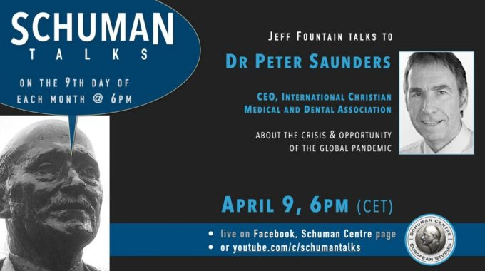 Schuman Talk (Episode 10) – Dr. Peter Saunders