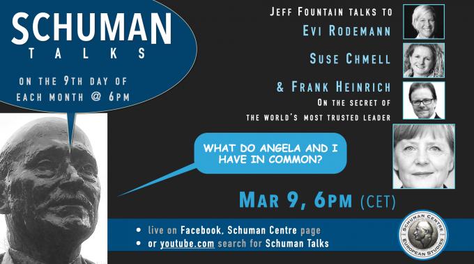 Schuman Talk (Episode 9) – Evi Rodemann, Suse Chmell, Frank Heinrich
