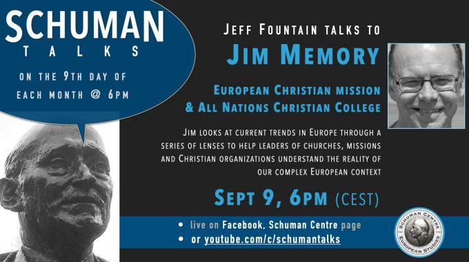 Schuman Talk (Episode 13) – Jim Memory