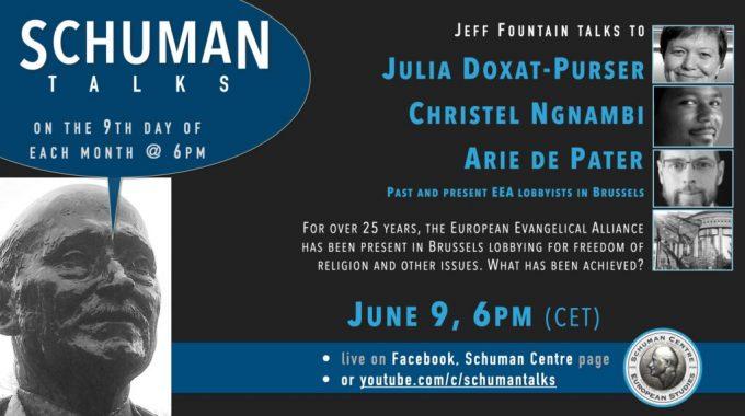 Schuman Talk (Episode 12) – Julia Doxat-Purser, Christel Ngnambi, Arie De Pater